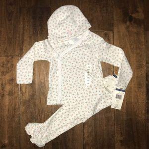 9d3808798fb Ralph Lauren Matching Sets - Polo Ralph Lauren Baby Girl Floral outfit w   hat